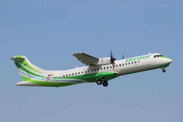 A Binter já opera uma frota de 4 aeronaves ATR 72-600s. (Foto: ATR Aircraft)
