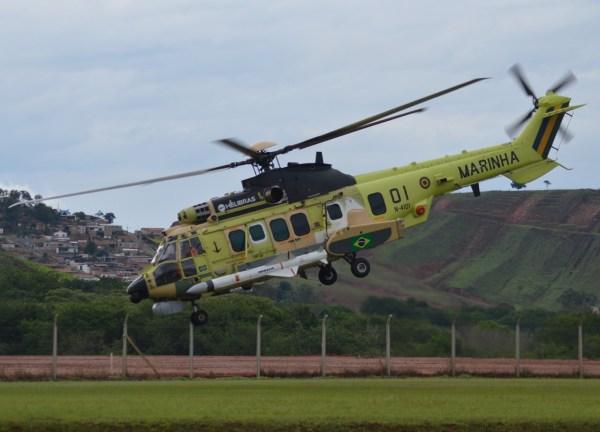 Helicóptero H225M em versão operacional, o mais complexo já desenvolvido pela empresa. (Foto: Yam Wanders / Heibras)