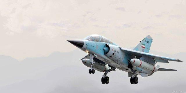 Mirage F1 IRIAF - Mirages F.1 iranianos agora com novo sistema de geração de oxigênio a bordo