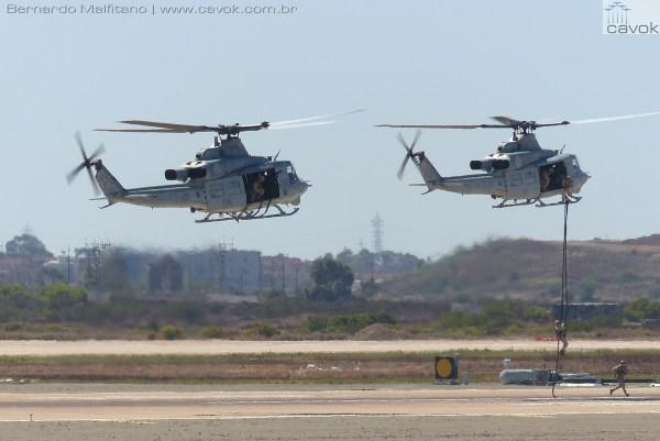 """Miramar16Malfitano 31 MAGTF UH1 600x401 - Saiba como foi o Miramar Air Show 2016, a """"Fightertown"""" pelas lentes do Cavok"""