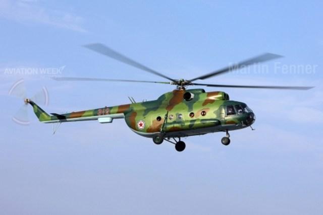"""""""Hip"""" O helicóptero de transporte Mil Mi-8 """"Hip"""" é uma visão comum em países com relações com Moscou, e uma grande frota permanece em funcionamento na Coreia do Norte."""