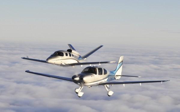 O Vision Jet agora se junta ao portfólio da Cirrus com o monomotor a pistão SR22.