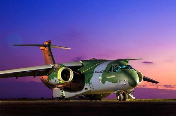 Alemanha poderia adquirir unidades do cargueiro brasileiro KC-390.