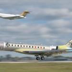 Primeiro Global 7000 da Bombardier realiza voo inaugural