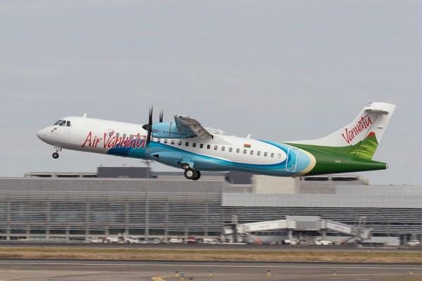O primeiro ATR 72-600 da companhia aérea Air Vanuatu. (Foto: ATR Aircraft)