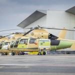 Airbus Helicopters entrega os três primeiros AS565 MBe Panther para Marinha da Indonésia