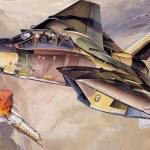 GUERRA IRÃ x IRAQUE:O dia em que um F-14 abateutrêsinimigos com apenas um Phoenix