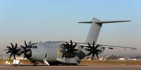 Primeiro A400M para a Força Aérea da Malásia. Foto: Airbus