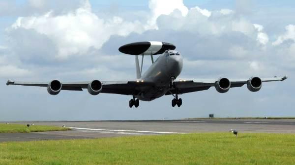 E-3D da RAF. Foto: Paul Saxb