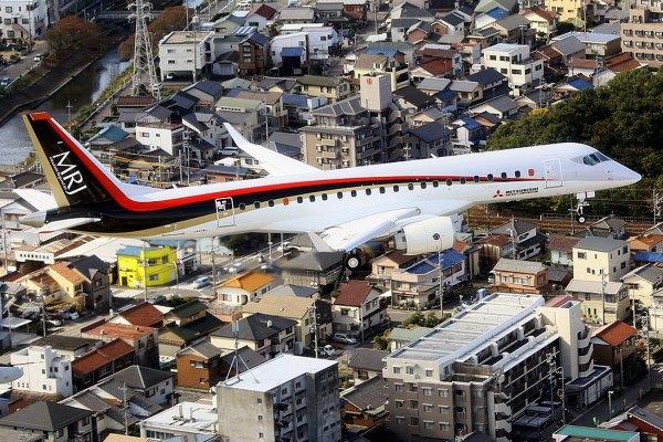 A decisão também afeta a aeronave Mitsubishi MRJ, que está atualmente sendo testada e demonstrada nos EUA.