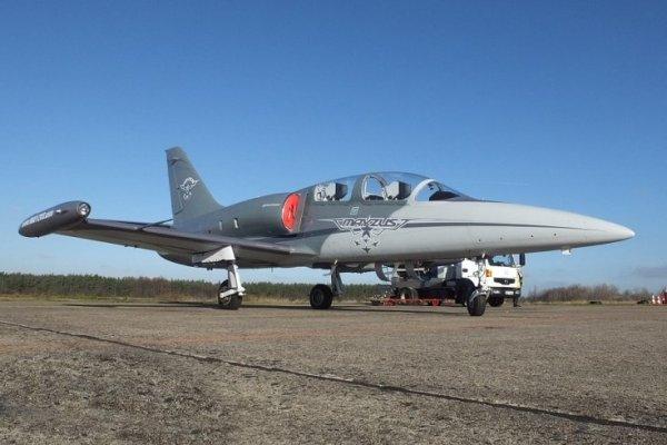 L-39NG em sua versão civil. Foto: L-39NG.cz