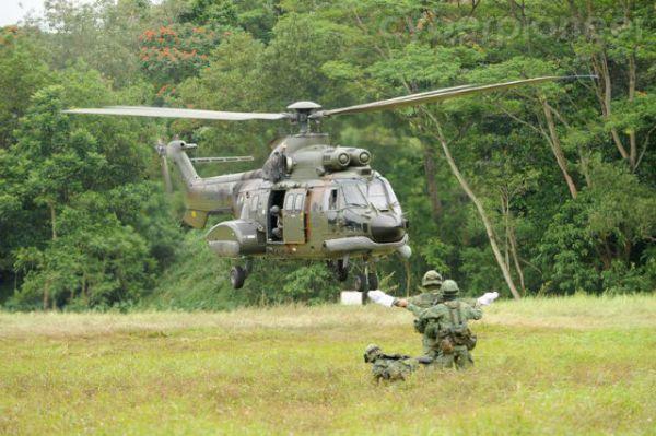 AS332 Super Puma da RSAF.