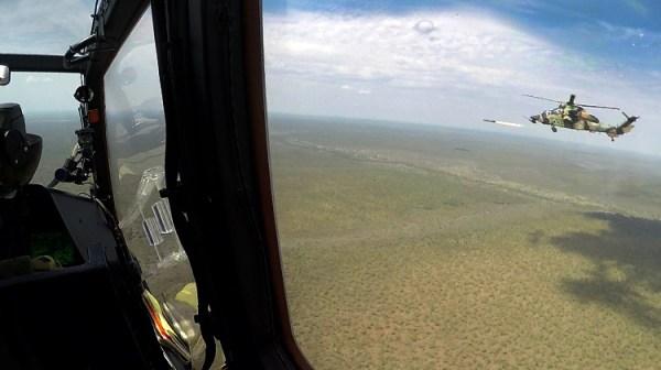 Austrália conduz primeiros testes com mísseis Hellfire II. (Foto: ADF)
