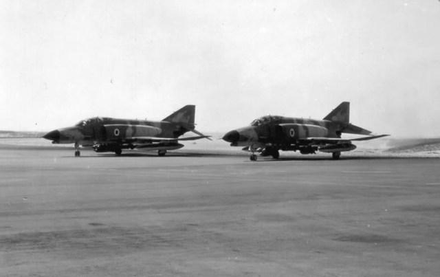 F 4E israel - Guerra do Yom Kippur: O petróleo como arma