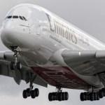 Emirates recebe a primeira aeronave Airbus A380 com motores Rolls-Royce