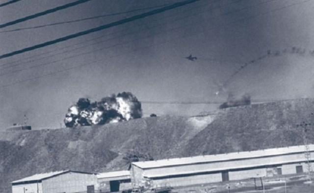 MiG 21 explode F 4 em voo - Guerra do Yom Kippur: SAM x Phantom