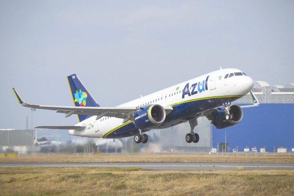 A320neo Azul 01 600x400 - Thales fornecerá equipamentos aviônicos para nova frota da Azul no Brasil