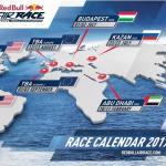 Calendário da Red Bull Air Race 2017