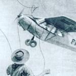 O dia em que um Gaúcho laçou um avião
