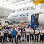 VÍDEO: Airbus acelera testes de vibração no solo com o A350-1000