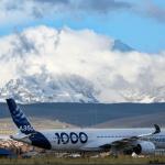 Airbus A350-1000 executa campanha de testes de voo 'High and Warm' na América Latina