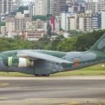 IMAGENS: Embraer KC-390 retorna ao Brasil após testes no sul do Chile e Argentina