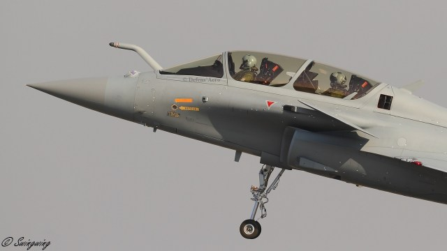 ob 2070a4 dq01 2 - Caças Rafale do Qatar usarão HMD Israelense