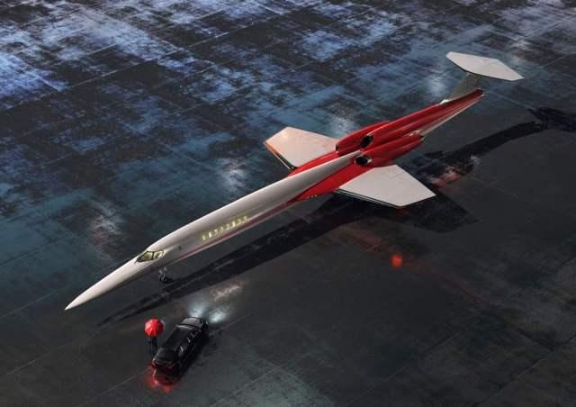 AS2 Supersonico - Aerion escolheu a GE Aviation para estudar o desenvolvimento de motores para seu jato executivo supersônico