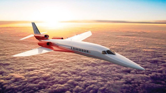 AS2 aerion - Aerion escolheu a GE Aviation para estudar o desenvolvimento de motores para seu jato executivo supersônico