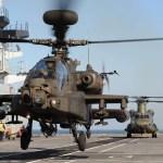 Boeing vai modernizar 38 helicópteros Apache do Reino Unido