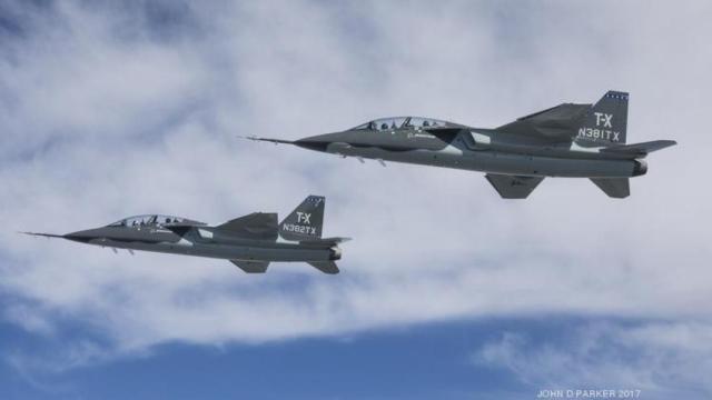 Boeing T X 2 - Suécia surge como potencial usuária do T-X, mas só se a Boeing ganhar a competição USAF