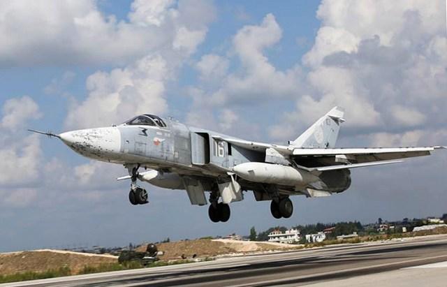 IMG 1231 - Rússia reimplanta quatro bombardeiros Su-24 para o Tajiquistão