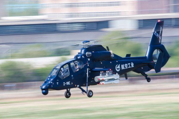 b8ac6f9232211a87be3807 600x400 - VÍDEO E IMAGENS: Helicóptero armado chinês Z-19E realiza voo inaugural