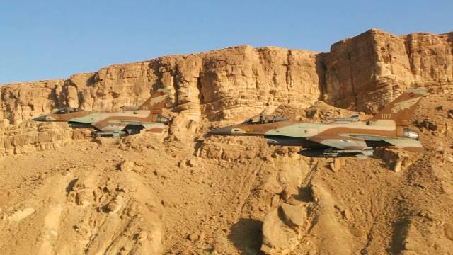F 16 israel - 36 anos da Operação Opera, o ataque israelense ao reator nuclear iraquiano