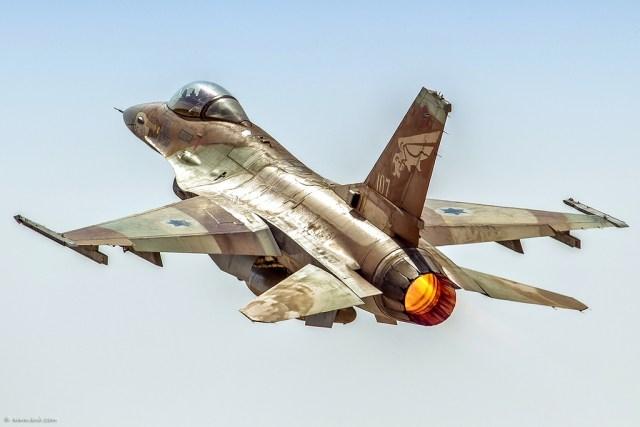 F 16A netz - 36 anos da Operação Opera, o ataque israelense ao reator nuclear iraquiano