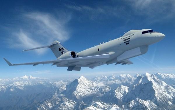Global 6000 JSTARS Recap Lockheed 1 600x378 - Sierra Nevada Corporation se junta a Lockheed Martin Skunk Works no programa JSTARS Recap da USAF