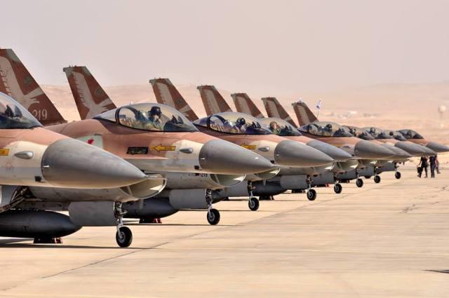 IAF F 16 - 36 anos da Operação Opera, o ataque israelense ao reator nuclear iraquiano