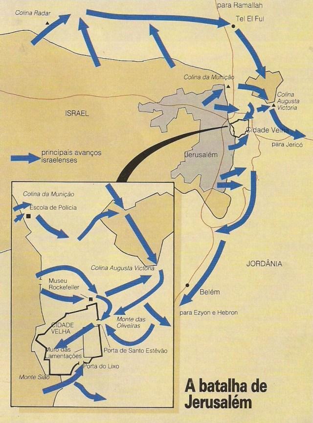 Imagem 34 2 - GUERRA DOS SEIS DIAS: Israelenses conquistam Jerusalém