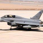 Omã recebe primeiro lote de caças Eurofighter Typhoons