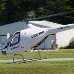 Demonstrador do helicóptero opcionalmente tripulado VSR700 realiza primeiro voo autônomo