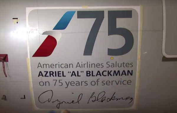 Al 600x383 - American Airlines dedica Boeing 777 a mecânico de 91 anos que completou 75 anos de serviços pela companhia