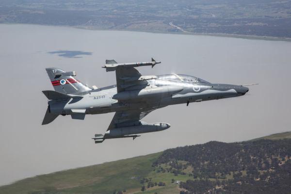 RAAF Hawk LIFCAPS 6 600x400 - Hawks modernizados pela BAE Systems começam a treinar pilotos australianos