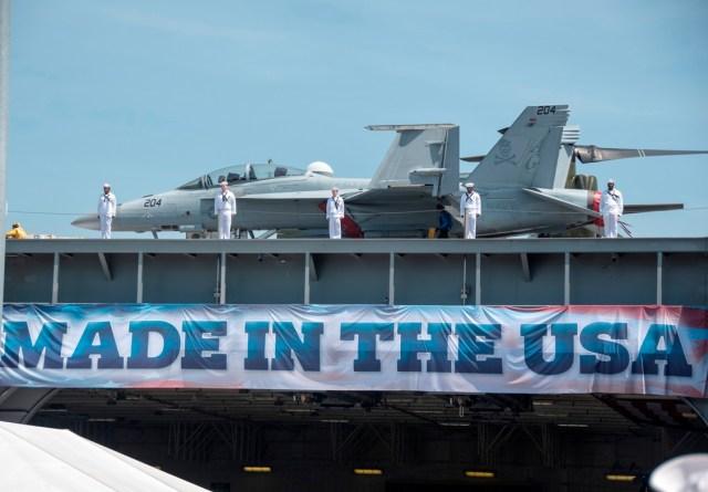 Super Hornet CVN 78 - Comissionado o mais novo porta-aviões da Marinha dos EUA