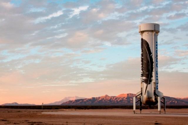 blue origin - AIRVENTURE: Foguete histórico da Blue Origin estará exposto em Oshkosh