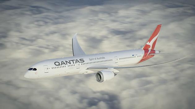 Qantas da austrlia planeja o voo comercial mais longo do mundo a qantas vai receber at o final deste ano a primeira aeronave 787 9 dreamliner stopboris Images