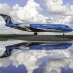 KLM define os últimos voos de seus Fokker 70