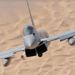 Reino Unido assina acordo com o Catar para 24 caças Eurofighters