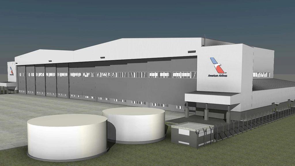 American Airlines Construir 225 No Brasil O Primeiro Hangar