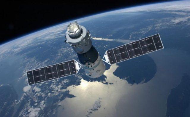 Tiangong 1 em orbita - China emite alerta: estação espacial Tiangong-1 cairá na Terra