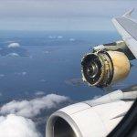 IMAGENS: Airbus A380 da Air France realiza pouso de emergência após motor perder carenagem em voo